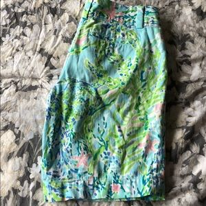 Lilly Pulitzer Blue Heaven Chipper Shorts